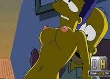Simpsons Hentai Xvideos Marge safada
