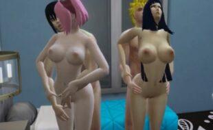 Naruto sexo em família 3D